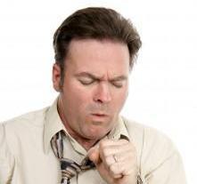 man met chronische bronchitis