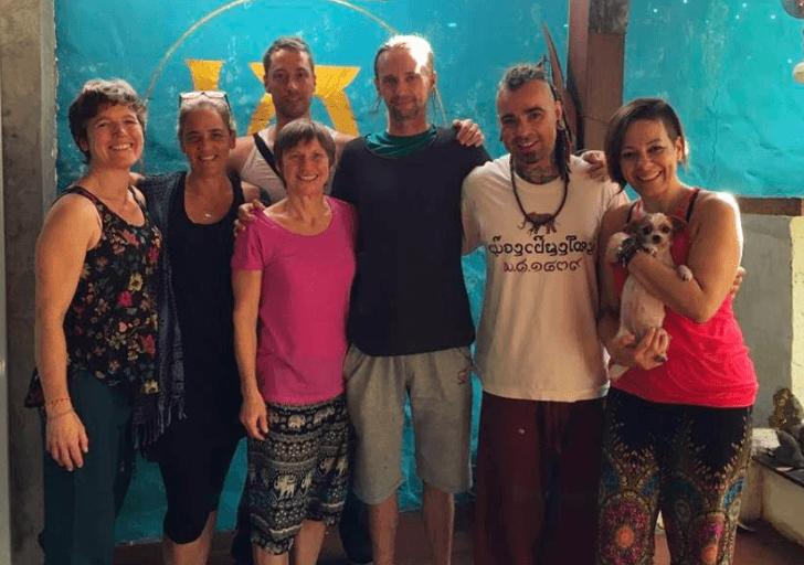 thai massage test massage leren