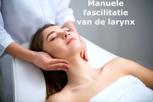 Manuele fascilitatie van de larynx