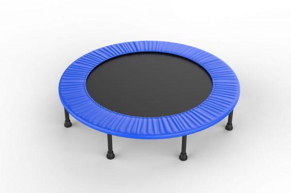 Borstademhaling trampoline